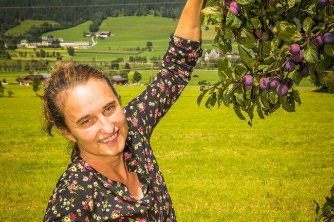 Tiere, Kräuter & Obst im Bauernhofurlaub in Altenmarkt, Salzburger Land