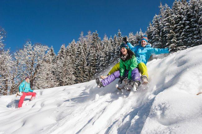 Rodeln –Winterurlaub in Altenmarkt im Pongau, Ski amadé, Salzburger Land
