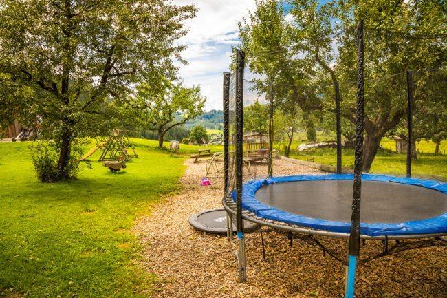 Spielplatz –Spiel & Spaß beim Hacklbauer –Kinderparadies im Bauernhofurlaub in Altenmarkt, Salzburger Land