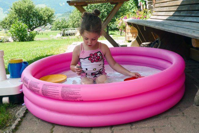 Baden –Spiel & Spaß beim Hacklbauer –Kinderparadies im Bauernhofurlaub in Altenmarkt, Salzburger Land