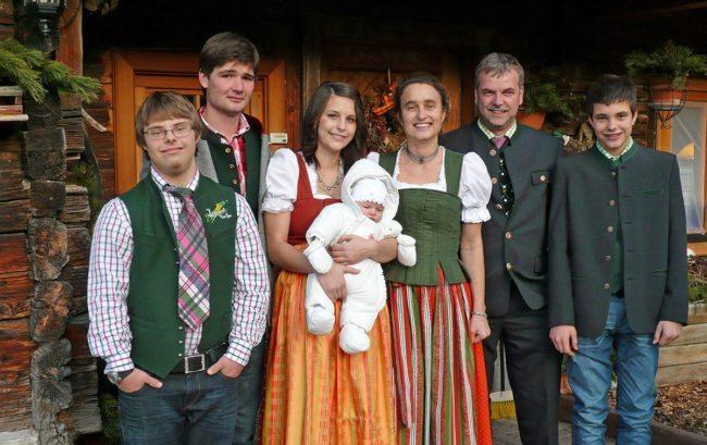 Familie Walchhofer vom Hacklbauer in Altenmarkt, Salzburger Land